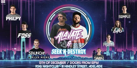 Bass Culture // RSQ // Alavate & Seek n Destroy tickets
