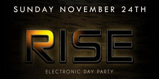 RISE  EDM PARTY IN DTLA ~ FREE