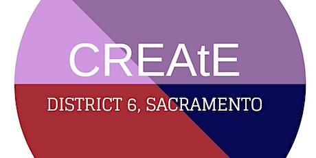 CREAtE District 6 presents; Pathways to Understanding, A Work in Progress 3 tickets