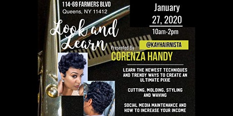 All In The Cut by CORENZA HANDY tickets