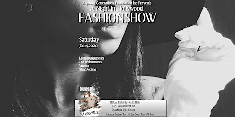 Night In Hollywood Charity Fashion Show tickets