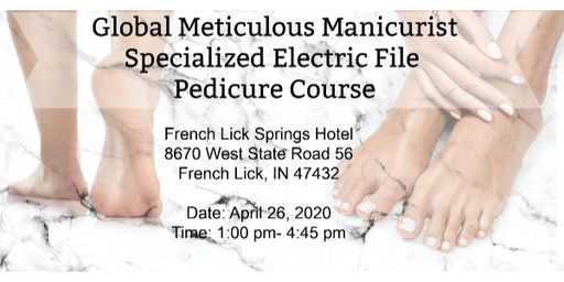 Specialized Electric File Pedicure Workshop Includes Kit $225 Value
