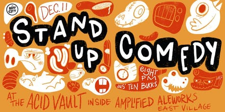 Stand-up Comedy @Amplified East Village tickets