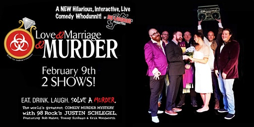 """Love and Marriage and Murder"" - A Murder Mystery Comedy Show // 2PM SHOW"