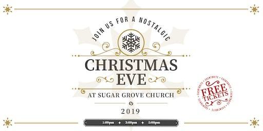 Christmas Eve at Sugar Grove Church