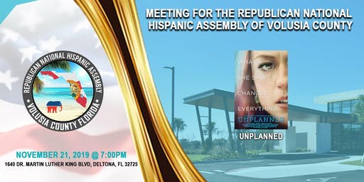 2019 November Volusia County Chapter General Meeting
