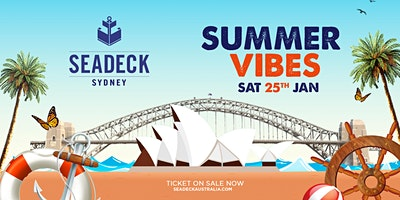 Seadeck Sunset Cruise – Sat 25th  Jan