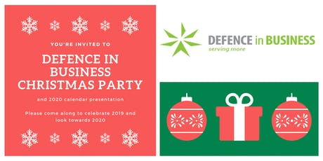 Defence in Business Christmas Party & Thank You tickets