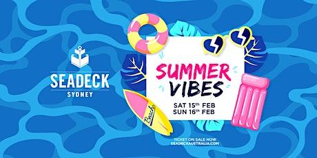 Seadeck Sunset Cruise - Sat 15th Feb tickets