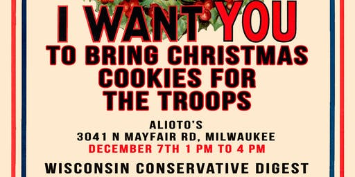 Christmas Cookies for the Troops