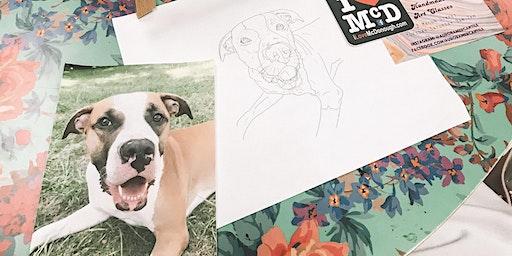 Paint Your Pet Art + Wine Class