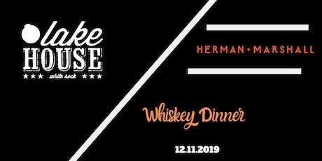 Herman Marshall Whiskey Dinner tickets