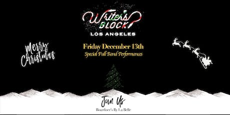 Writer's Block LA: Holiday Bash! tickets