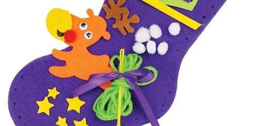 School Holiday Program - DIY Christmas Stockings