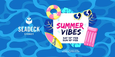 Seadeck Summer Sessions Sun 16th Feb tickets