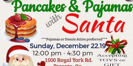 Pancakes & Pajamas With Santa tickets