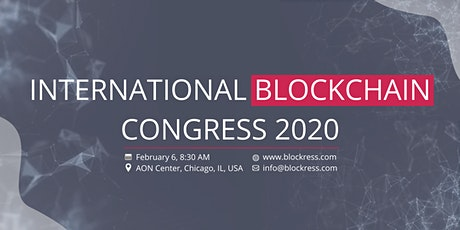 4th International Blockchain Congress 2020: Sponsorships tickets
