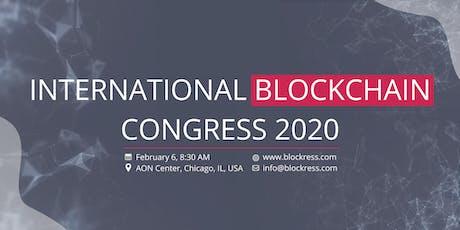 4th International Blockchain Congress 2020 tickets
