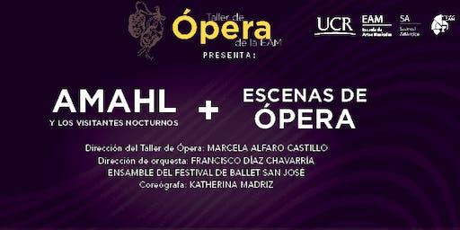 Amahl y los visitantes nocturnos - ópera por Gian Carlo Menotti (Turrialba)