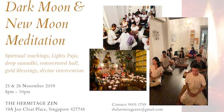 November Dark Moon & New Moon Meditation Puja tickets