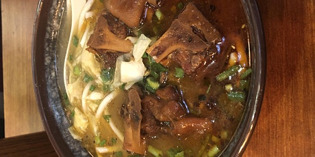 Make Taiwan Beef Noodles & Bubble Tea (homemade pearls) from scratch! tickets