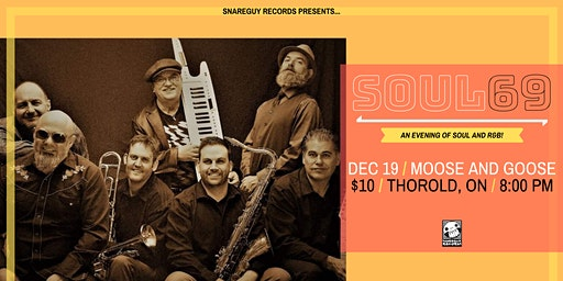 Soul69 at Moose and Goose: An Evening of Soul and R&B!