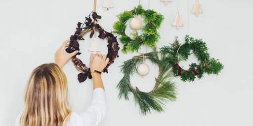 Mini Christmas Wreath Making