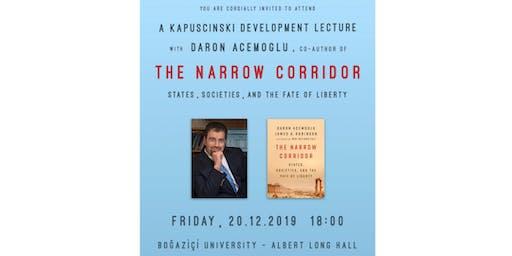 Kapuscinski Development Lecture: Daron Acemoğlu