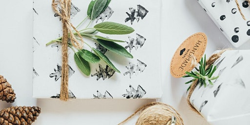 Stamped Wrapping Paper Workshop