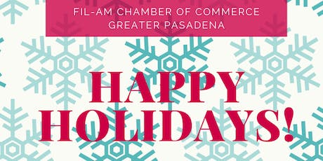 Fil-Am CC Greater Pasadena Holiday Party tickets