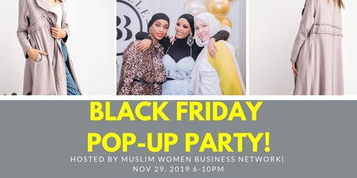 Muslim Women Business Network Black Friday Pop-Up Party