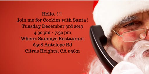 Cookies with Santa 2019