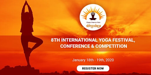 8th International Yoga Festival, Conference & Competition 2020