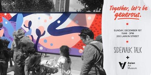 [San Francisco] Sidewalk Talk at Asian Art Museum