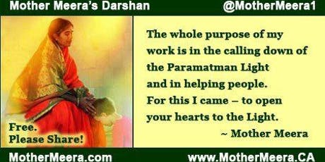 Mother Meera's Darshan (Ottawa)- A silent blessing tickets
