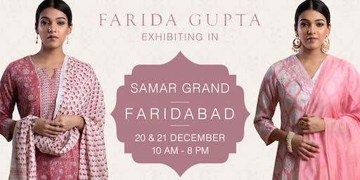 Farida Gupta Faridabad Exhibition