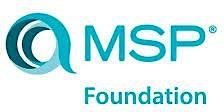 Managing Successful Programmes – MSP Foundation 2 Days Virtual Live Training in Brisbane