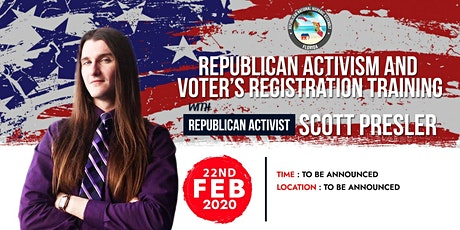 Republican Activism & Voter's Registration Training tickets