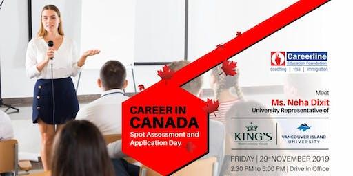 King's & VIU Spot Assessment Day - 29 November