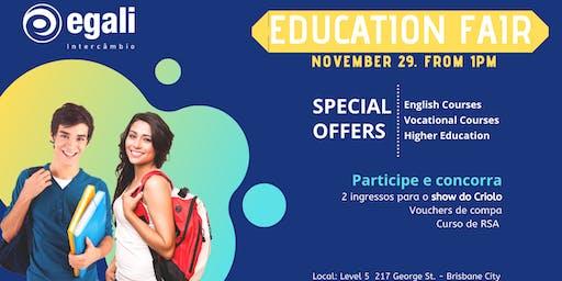 Education Fair - Egali Brisbane