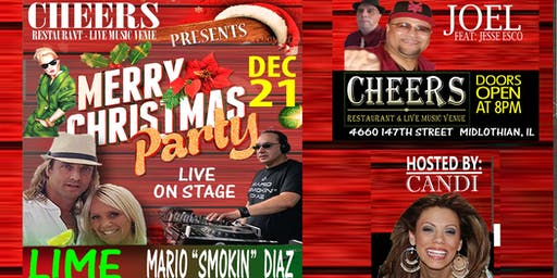 "Christmas Party with ""LIME"" and  Mario ""Smokin"" Di"