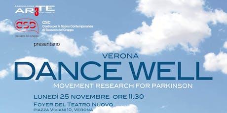 DANCE WELL - MOVEMENT RESEARCH FOR PARKINSON biglietti