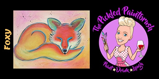 Painting Class - Foxy - December 19, 2019