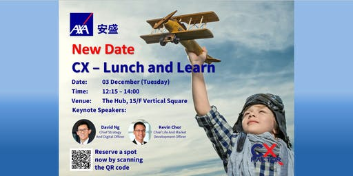 CX Lunch and Learn [New Date]