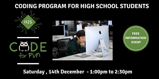Hack High School Coding Program - Free December Information Event