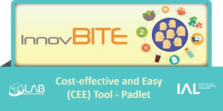 InnovBite: Cost-effective and Easy-to-use (CEE) Tool - Padlet tickets