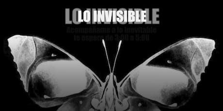 """""""LO INVISIBLE"""" de Azorín en El Teatro de Triana entradas"""
