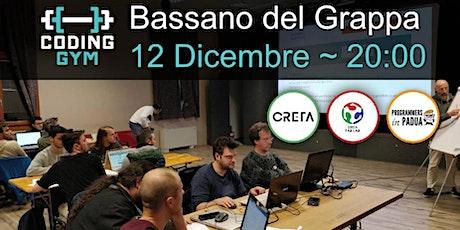 Coding Gym Bassano del Grappa - Dicembre 2019 biglietti