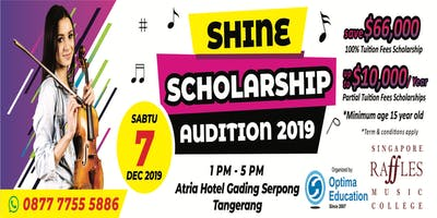 SRMC Shine Scholarship Audition 2019
