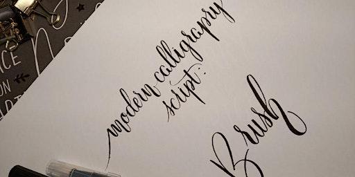 Calligrafia moderna: Brush Lettering
